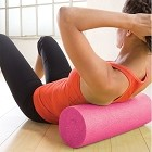 Gaiam Restore Pink Ribbon Foam Roller