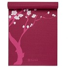 Gaiam Pink Cherry Blossom Yoga Mat