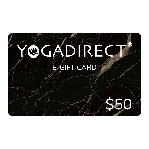 $50 E-Gift Card from YogaDirect.com